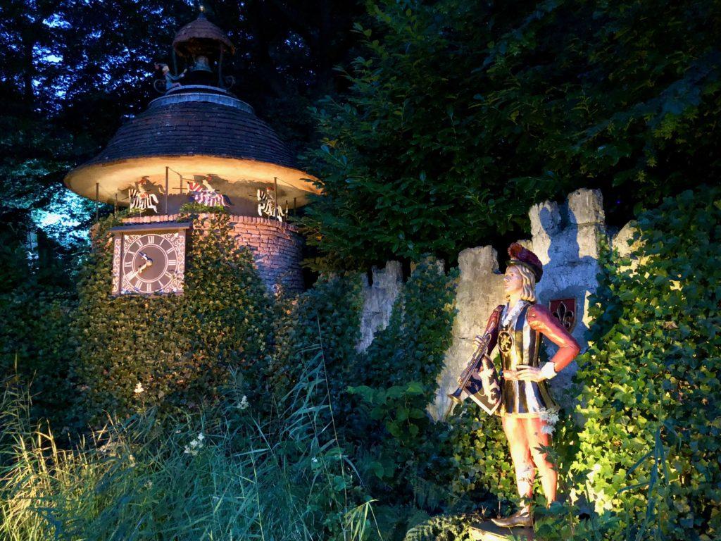 Parc Efteling bois contes crepuscule