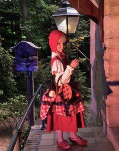 Parc Efteling bois contes petit chaperon rouge