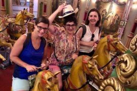 Parc Efteling chevaux de bois