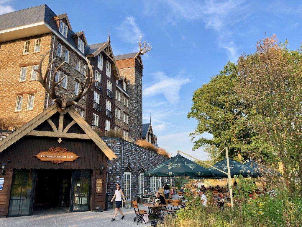 Parc Efteling hotel Loonsche Land exterieur