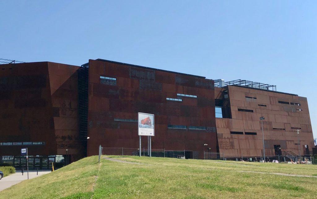 Pologne Gdansk ECS musee Solidarnosc
