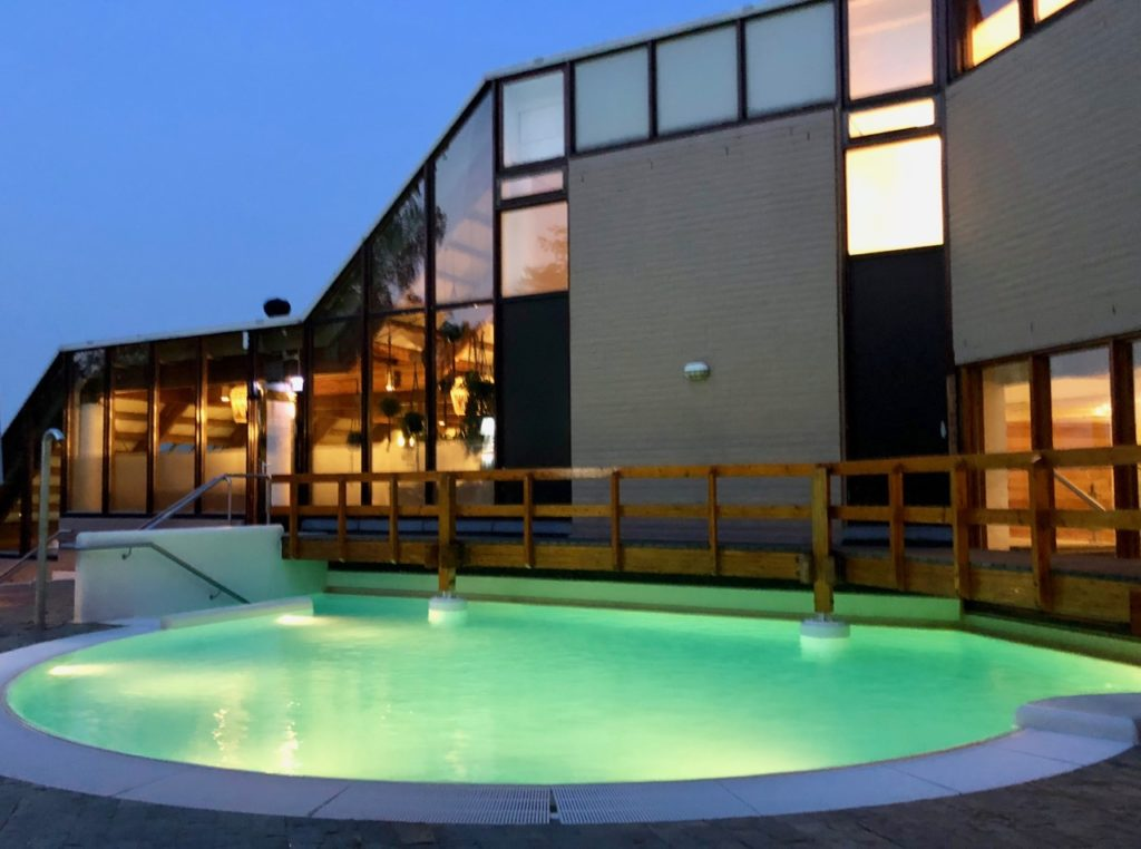 Thermae 2000 Pays-Bas bassin exterieur