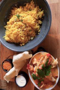 Thermae 2000 restaurant Senses bowl curry