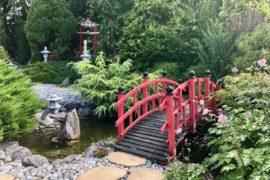 Jardins de Ly à Sénarpont Somme - l'entrée