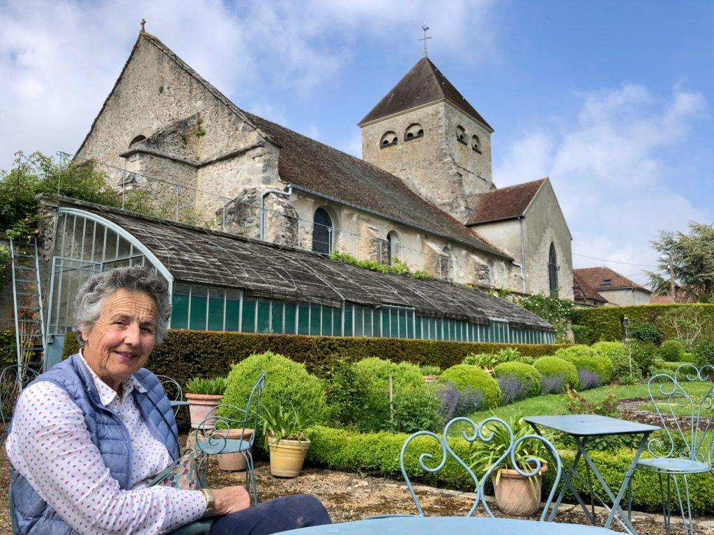 Jardins de Viels-Maisons - Bertrande de Ladoucette et son église