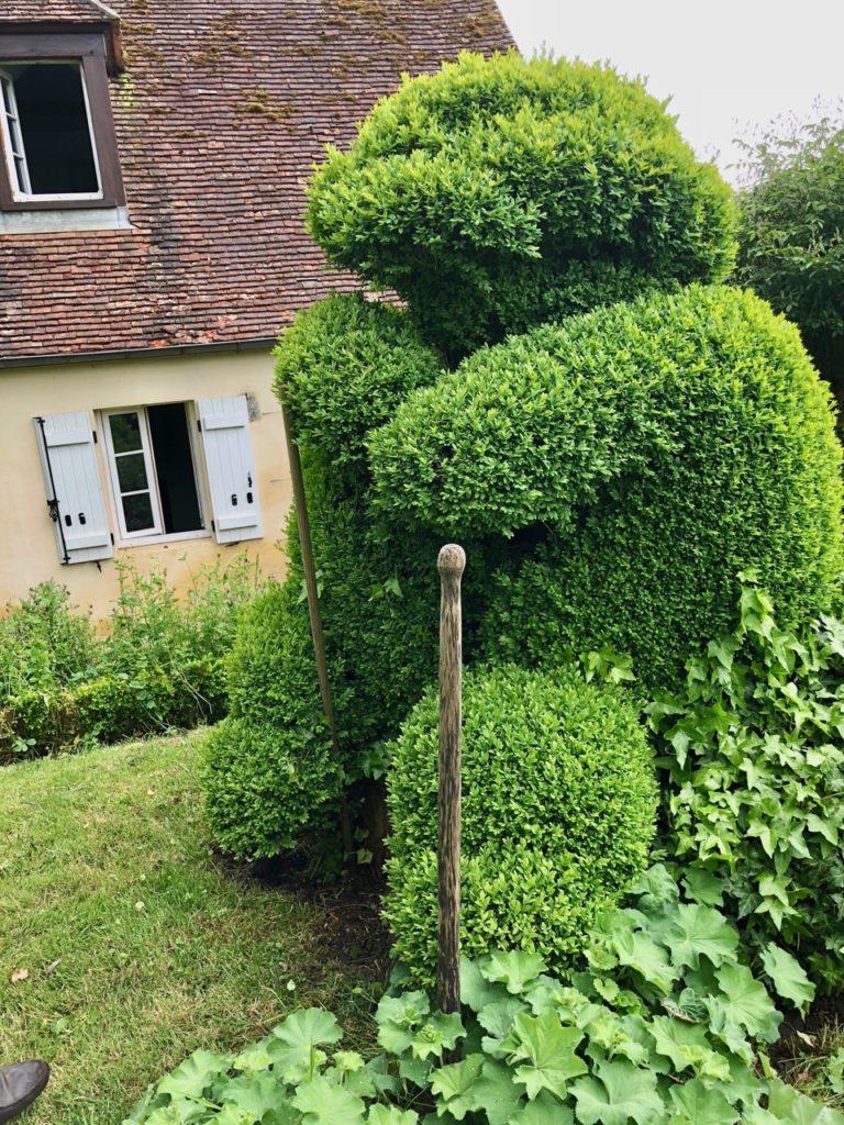 Jardins de Viels-Maisons - gros topiaire