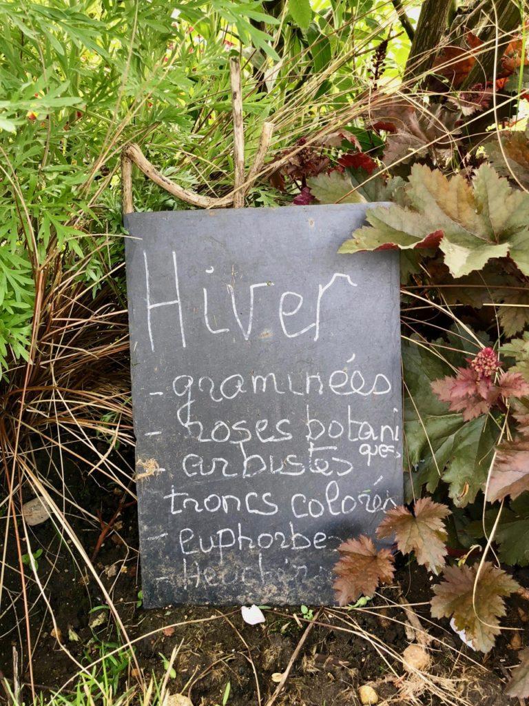 Jardins de Viels-Jardins - ardoise hiver