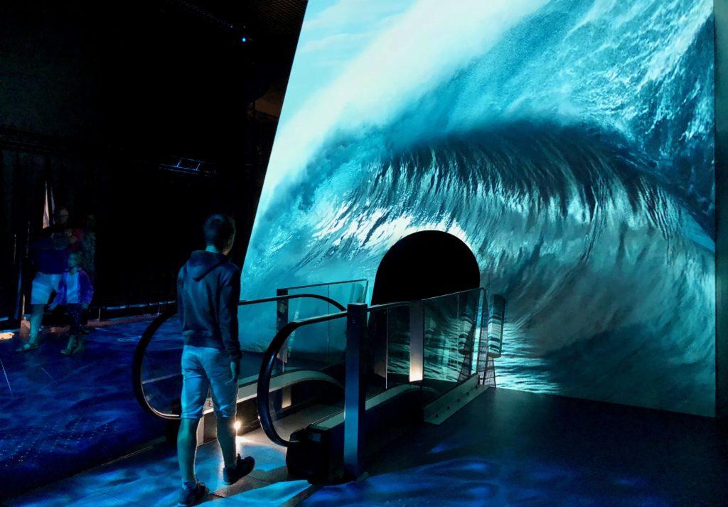 Nausicaà Boulogne-sur-Mer - entrée nouvelle exposition Haute Mer