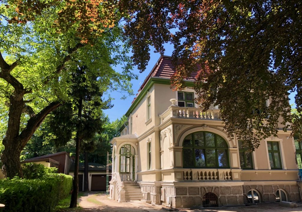 Pologne-Sopot-belle-villa