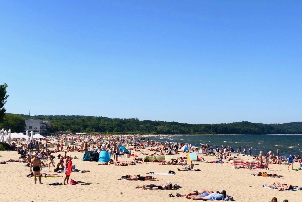 Pologne-Sopot-plage
