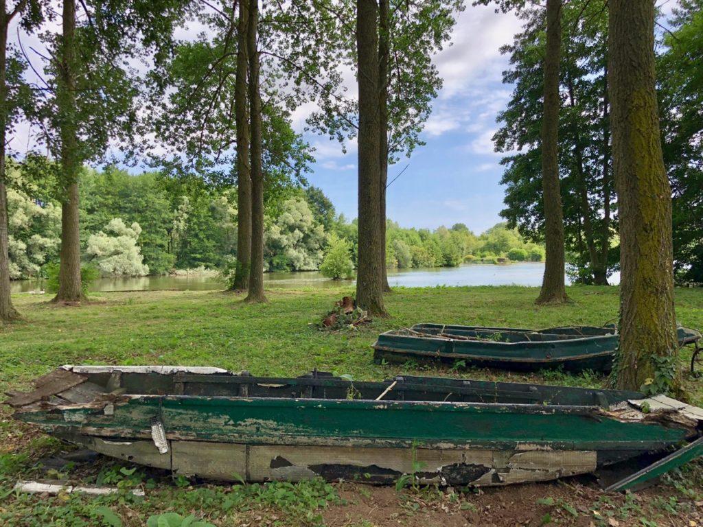 Rando Grand Marais vieille barque