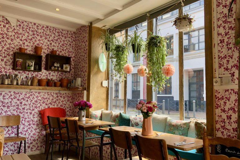 Slow & Green-Cantine Lille Wazemmes - vue restaurant