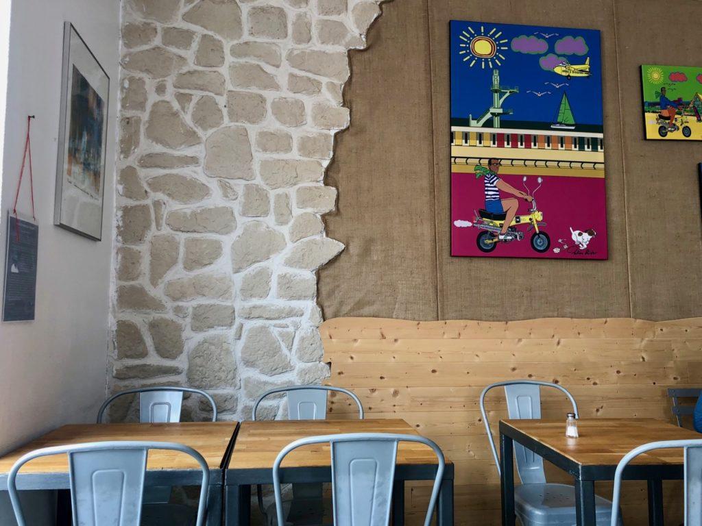 Burger fermier des enfants rouges Le Touquet - salle