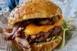 Burger fermier des Enfants rouges Le Touquet - sandwich