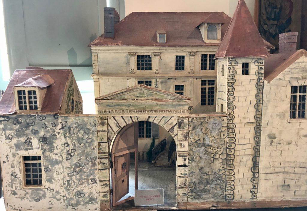 Chateau-Thierry-Maison-La-Fontaine-maquette-autrefois