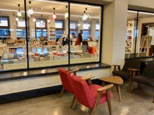 Gdynia Pologne musée émigration - librairie