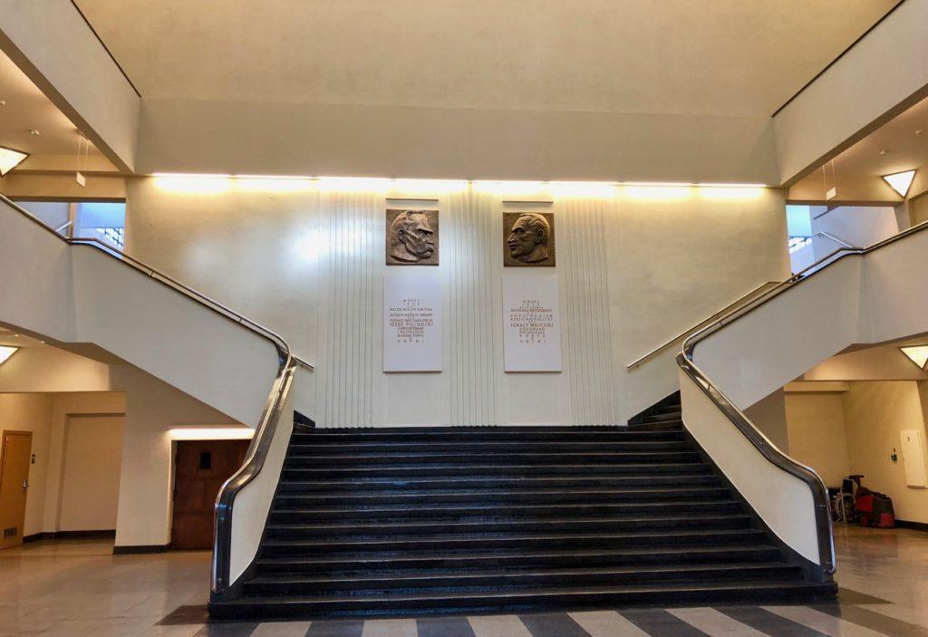Gdynia Pologne musée émigration - entrée