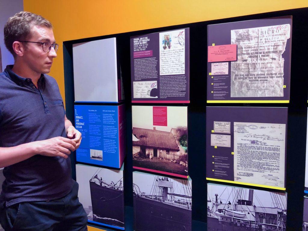 Gdynia Pologne musée émigration - guide-lettres