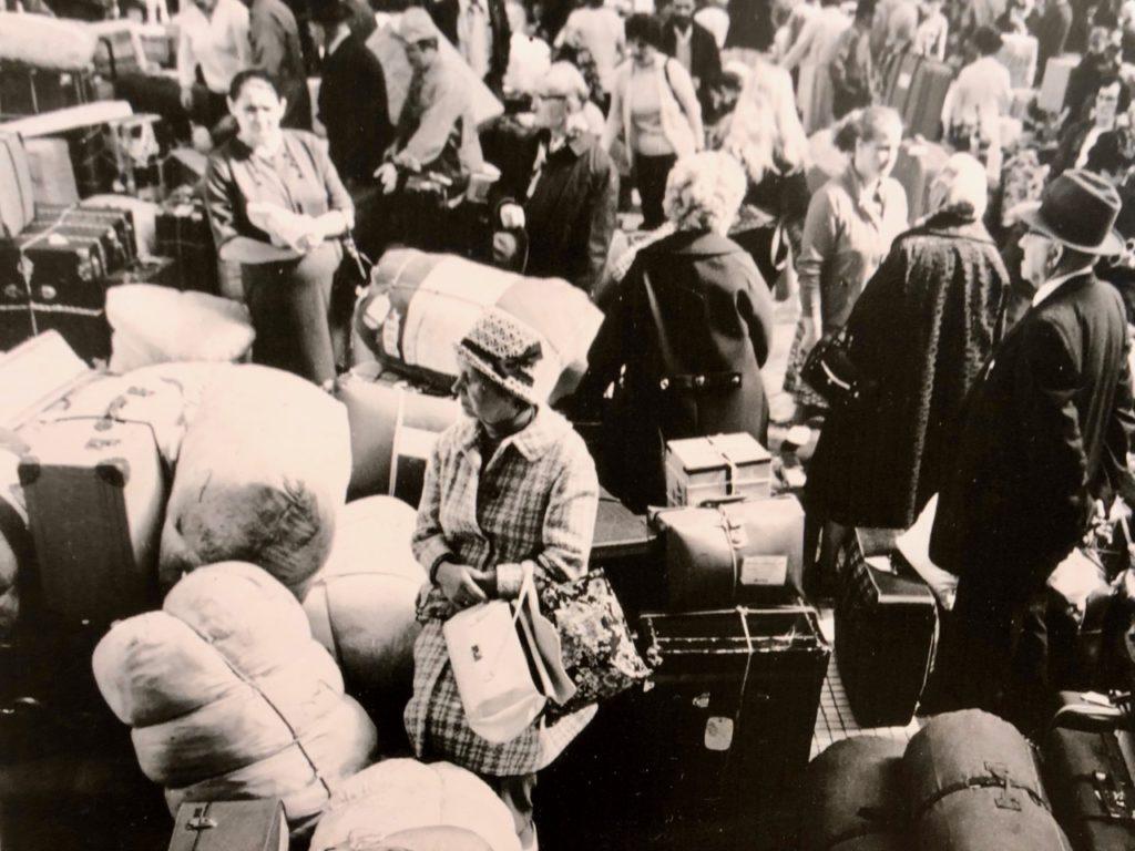 Gdynia Pologne musée émigration - photo ancienne