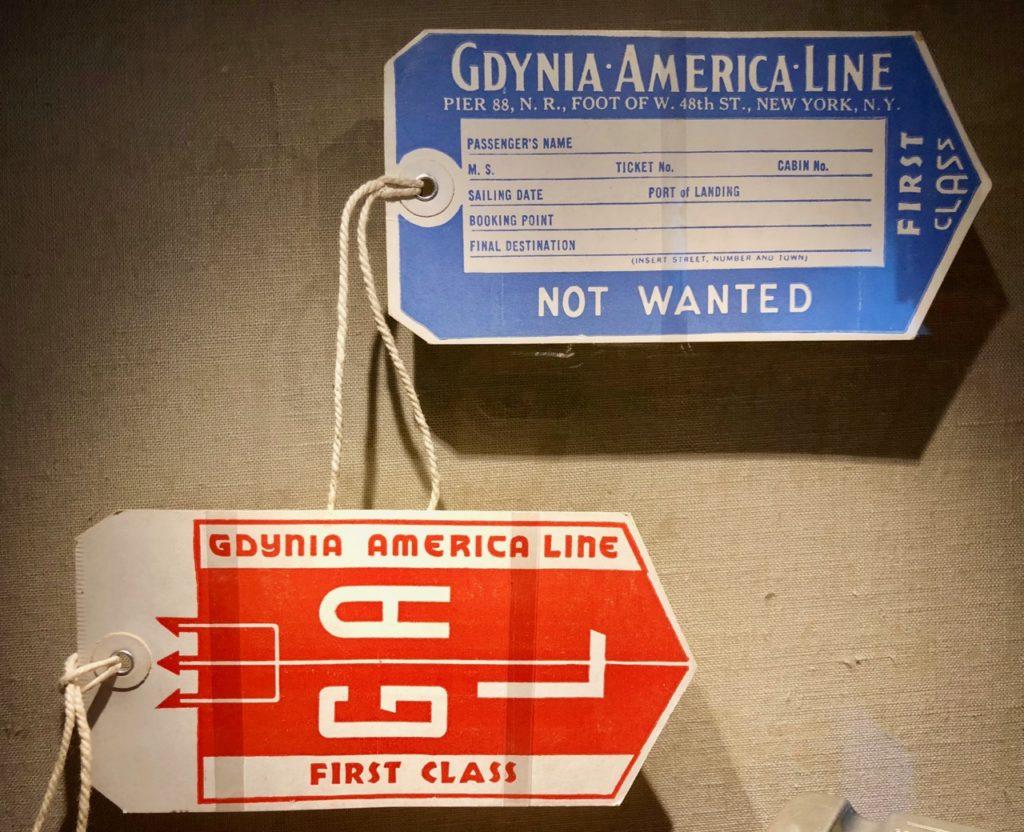 Gdynia Pologne musée émigration - tickets