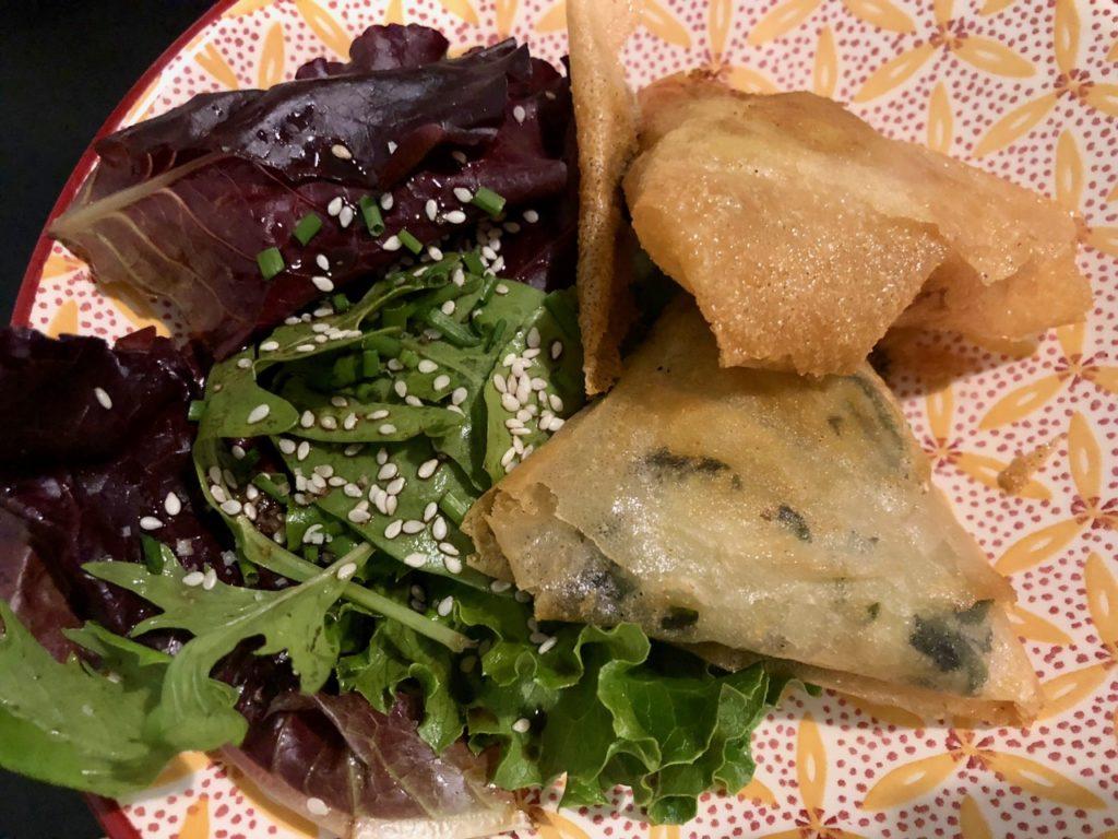 Itsy Bitsy Lille - samossas légumes