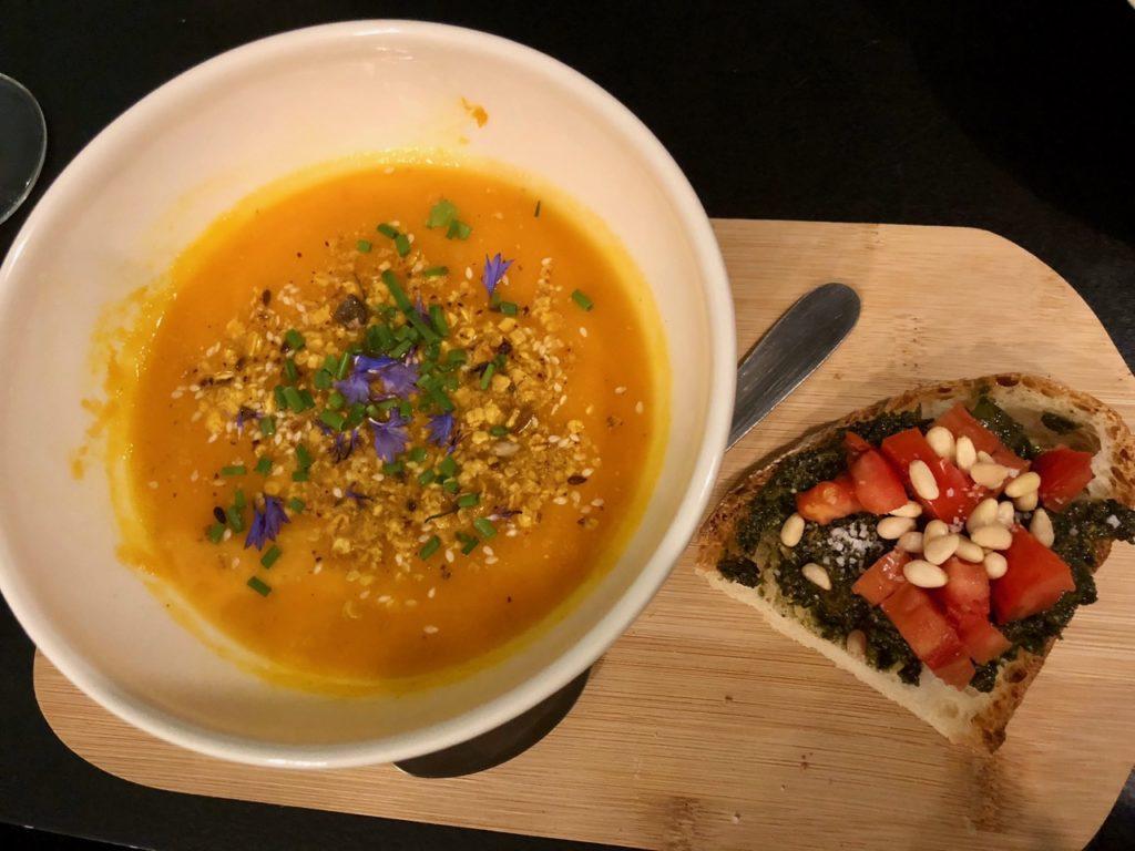 Itsy Bitsy Lille - soupe carotte coco cumin
