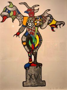 Mons-expo-Niki-de-Saint-Phalle-jardin-tarots-dessin-arcane-Diable