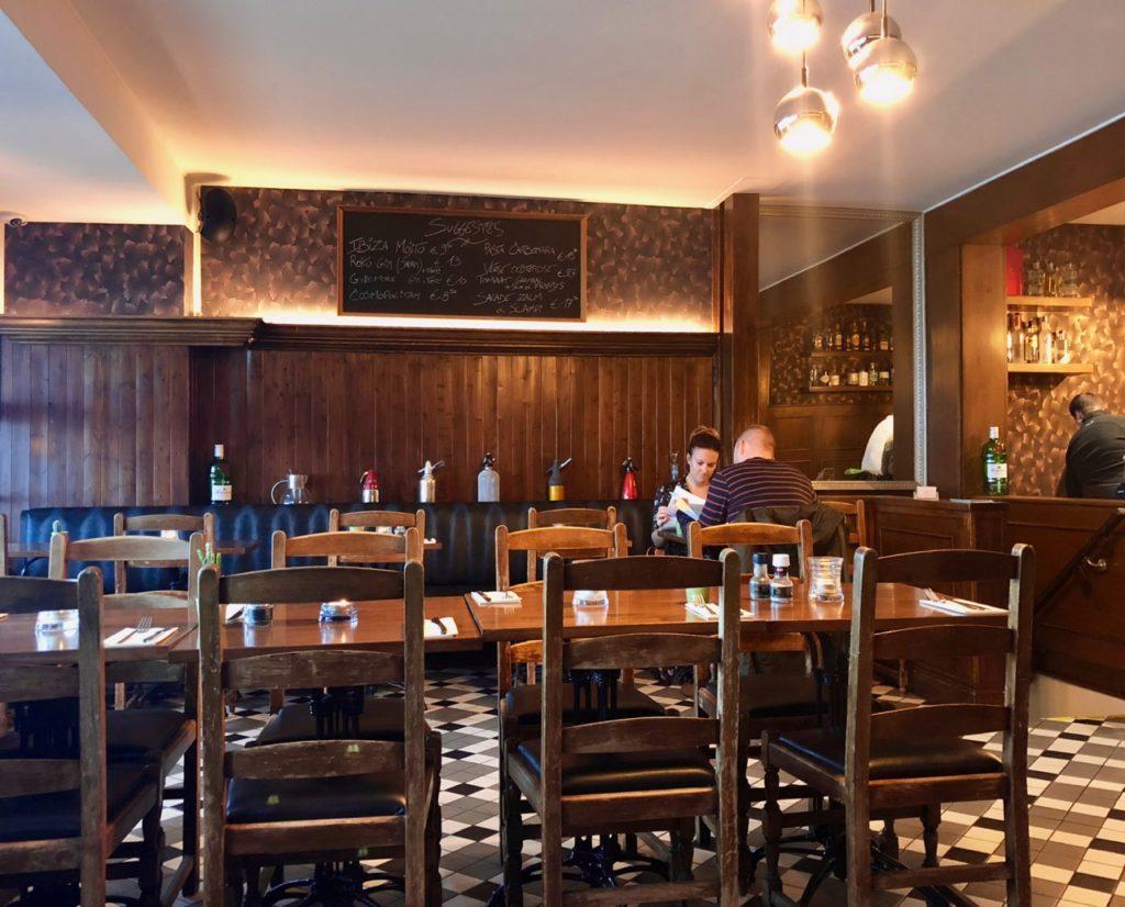 Ostende tables ostendaises Histoires d'o salle