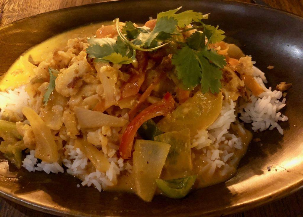 Ostende tables ostendaises La Vie curry thai
