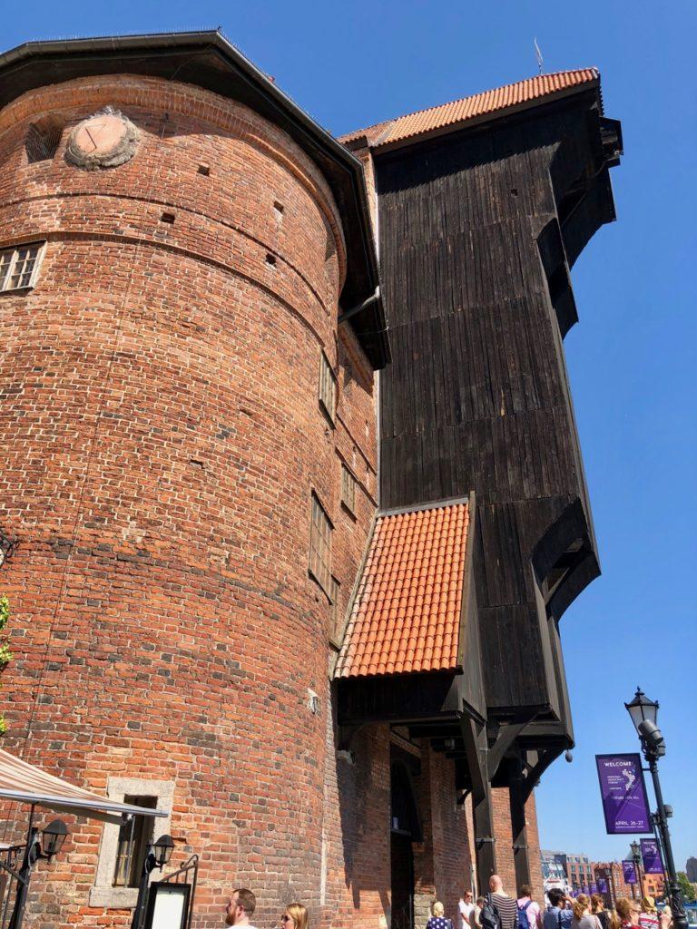 Pologne Gdansk grue vue de pres