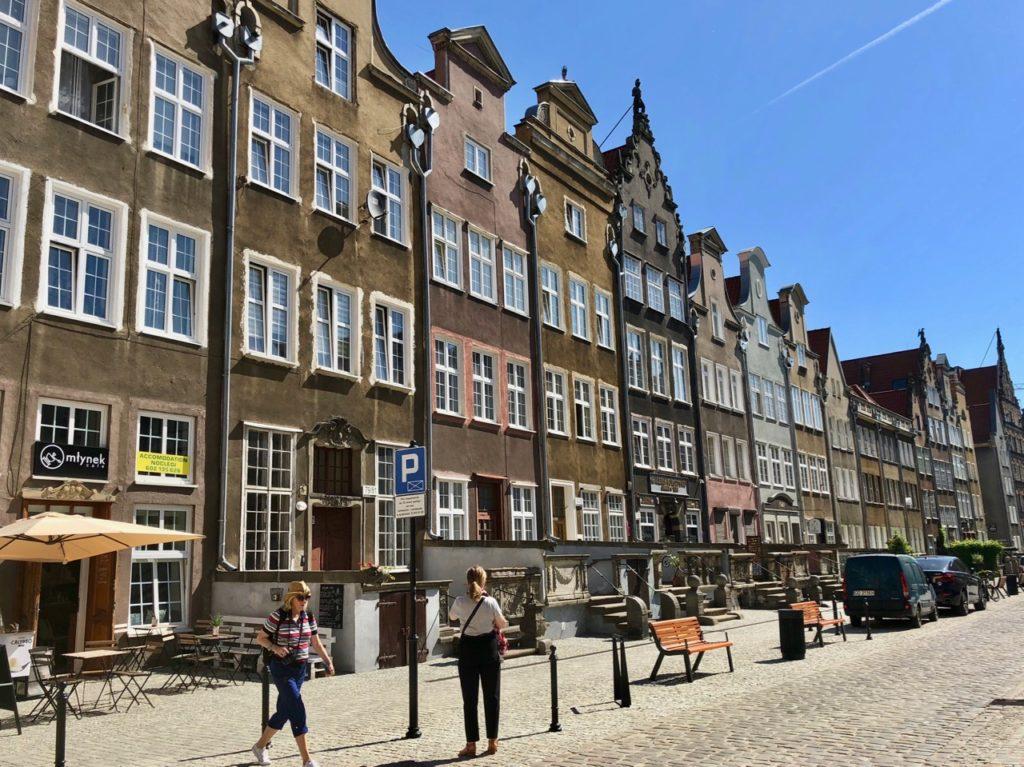 Pologne Gdansk rue Mariacka