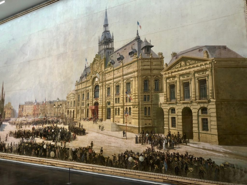 Musee La Piscine - panorame place hôtel de ville panorama