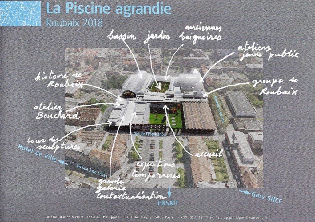 Plan La Piscine de Roubaix