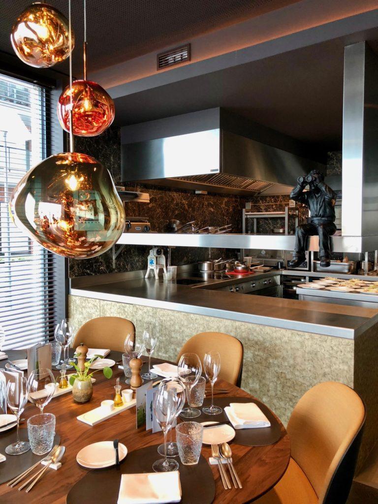 Ostende tables ostendaises Storm table dressée