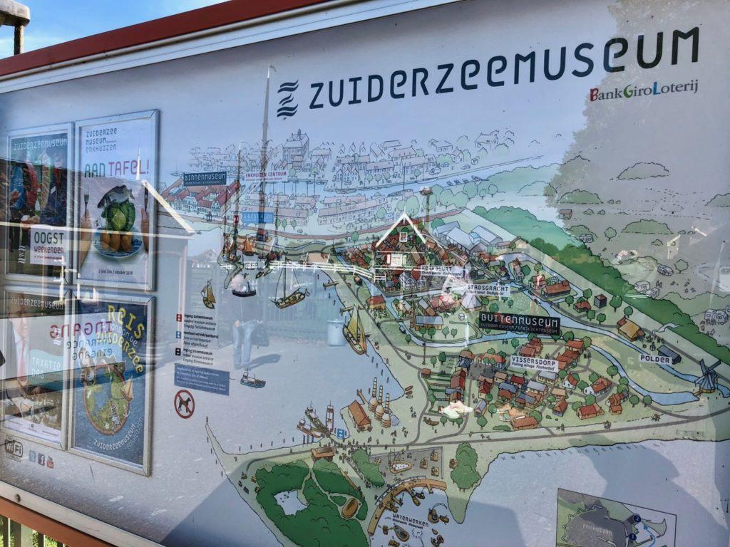 Pays-Bas Enkhuien - Zuiderzeemuseum entrée