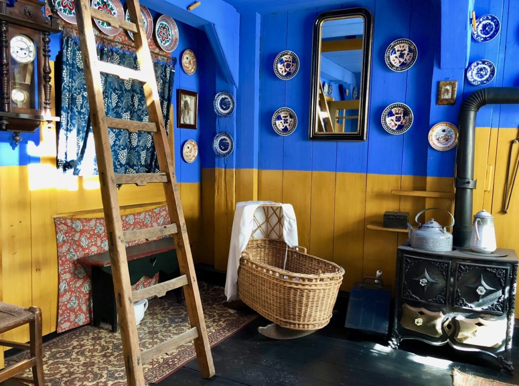 Pays-Bas Enkhuizen - Zuiderzeemuseum intérieur maison