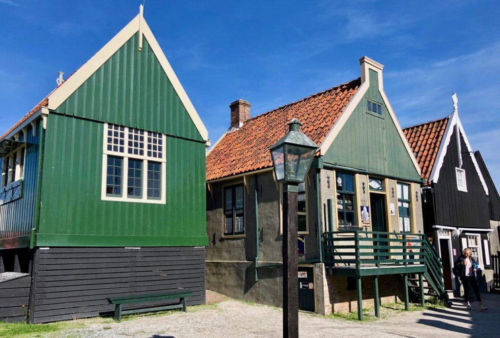 Pays-Bas Enkhuizen - Zuiderzeemuseum maisonnettes