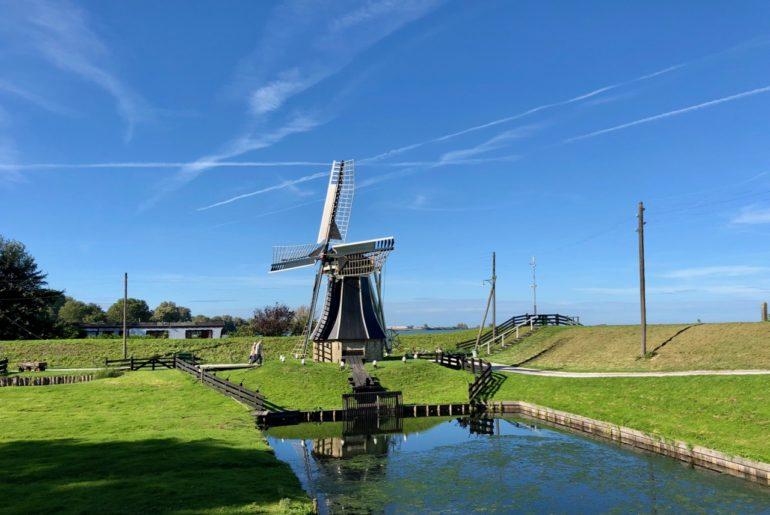 Pays-Bas Enkhuizen Zuiderzeemuseum moulin