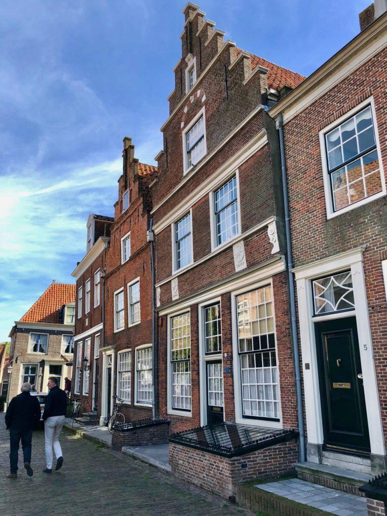 Pays-Bas Enkhuizen - maisons pignons