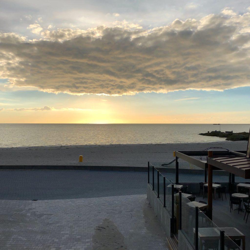 Pays-Bas digue du Nord - Makkum vue lac Ijssel