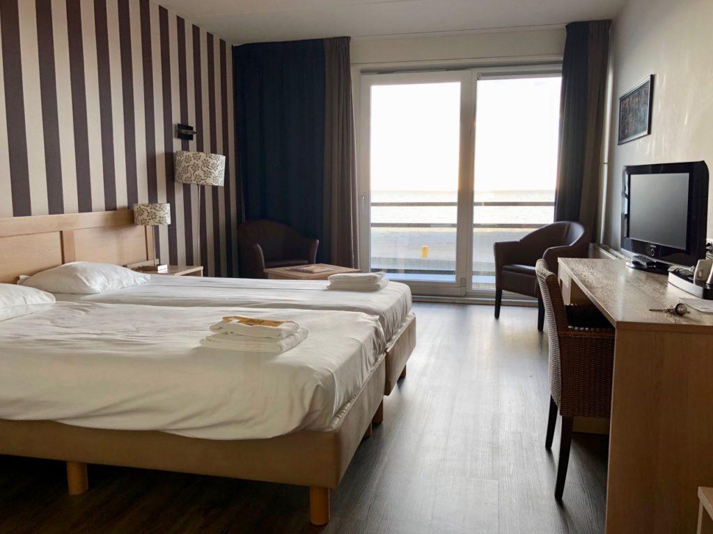 Pays-Bas digue du Nord - Strand Hotel Vigilante Makkum