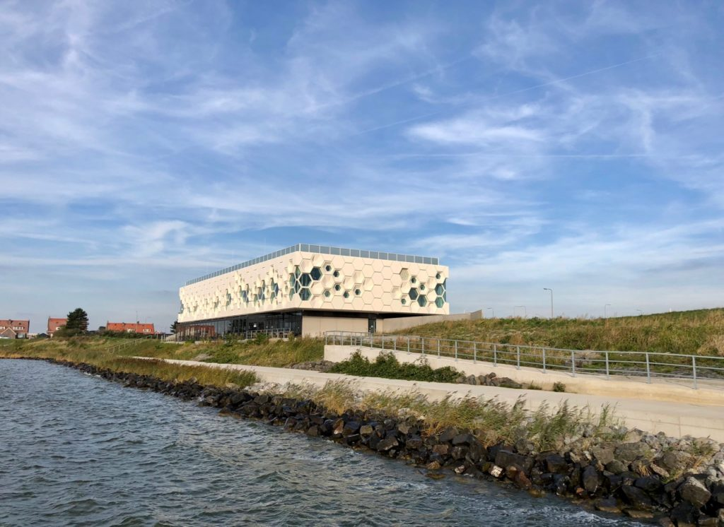 Pays-Bas digue du Nord - afsluitdijkwaddencenter exterieur