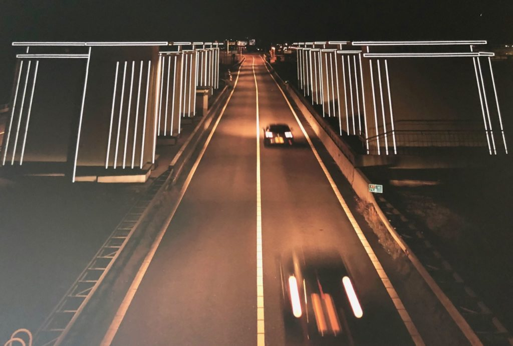 Pays-Bas digue du Nord - Gates of Light Daan Roosegaarde
