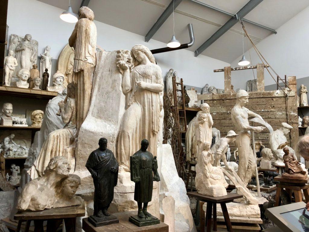 Roubaix musée La Piscine - atelier Bouchard