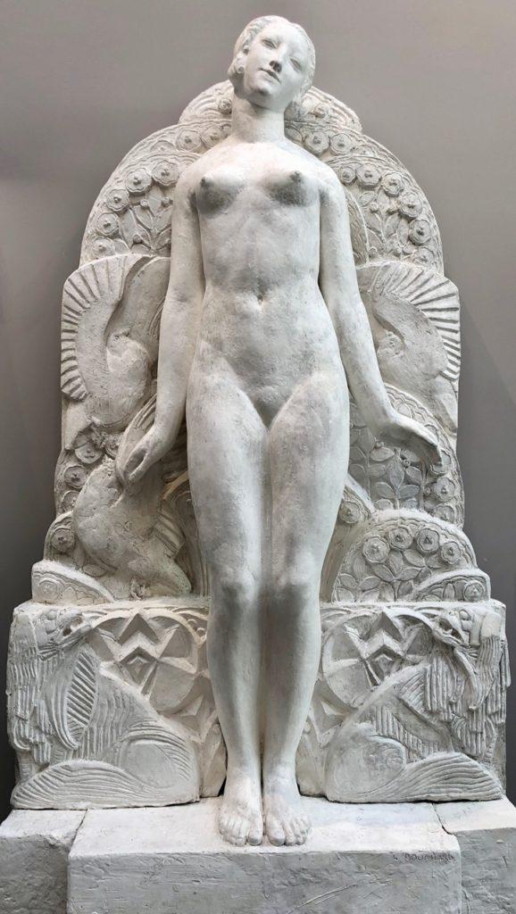 Roubaix musée La Piscine sculpture femme Art Déco