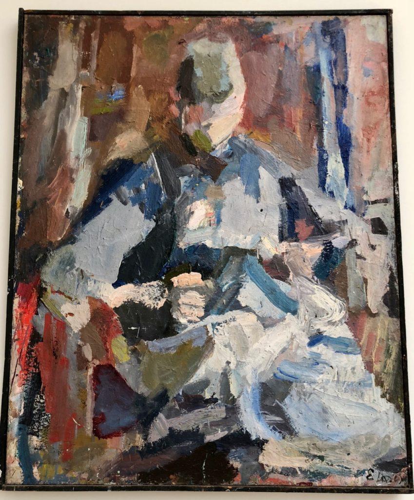 Roubaix musée La Piscine - tableau Eugène Leroy