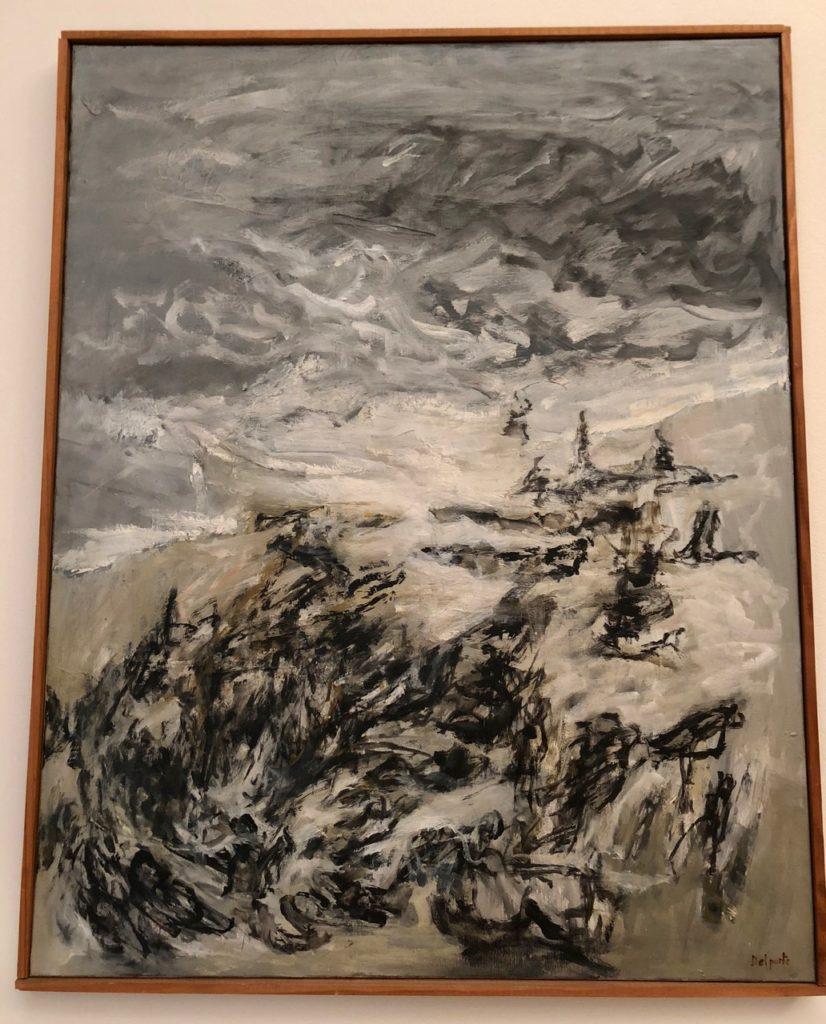Roubaix musée La Piscine - tableau Michel Delporte