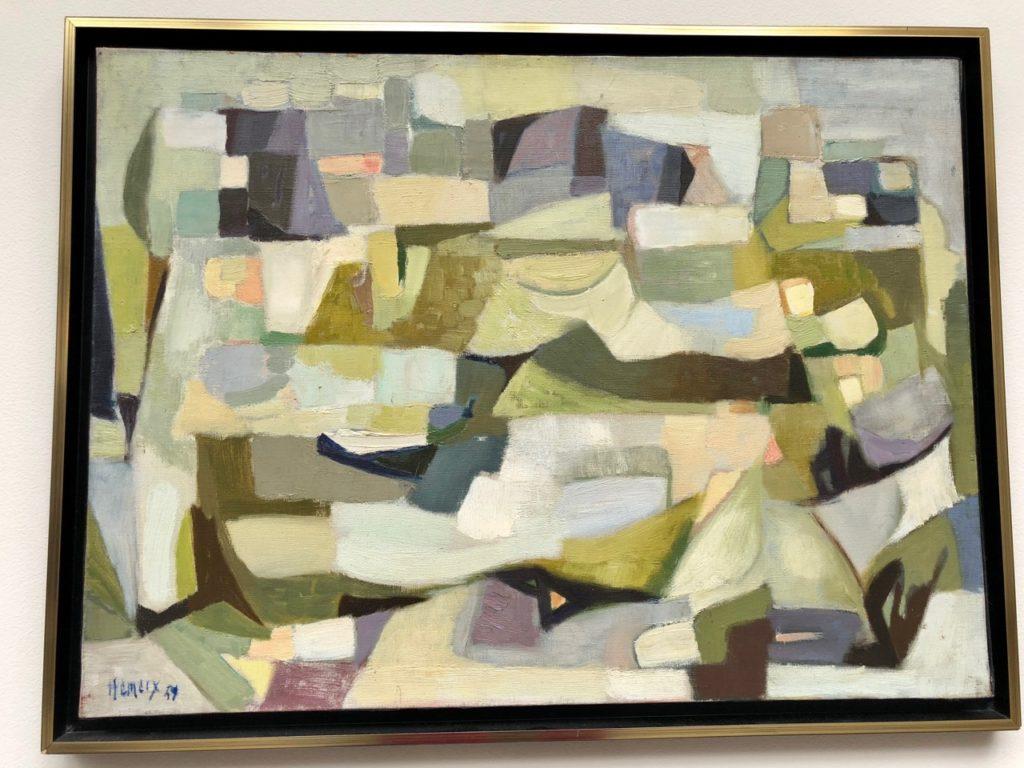 Roubaix musée La Piscine - tableau Paul Hemery