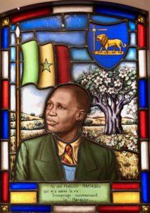 Roubaix museé La Piscine - vitrail Mamadou N Diaye