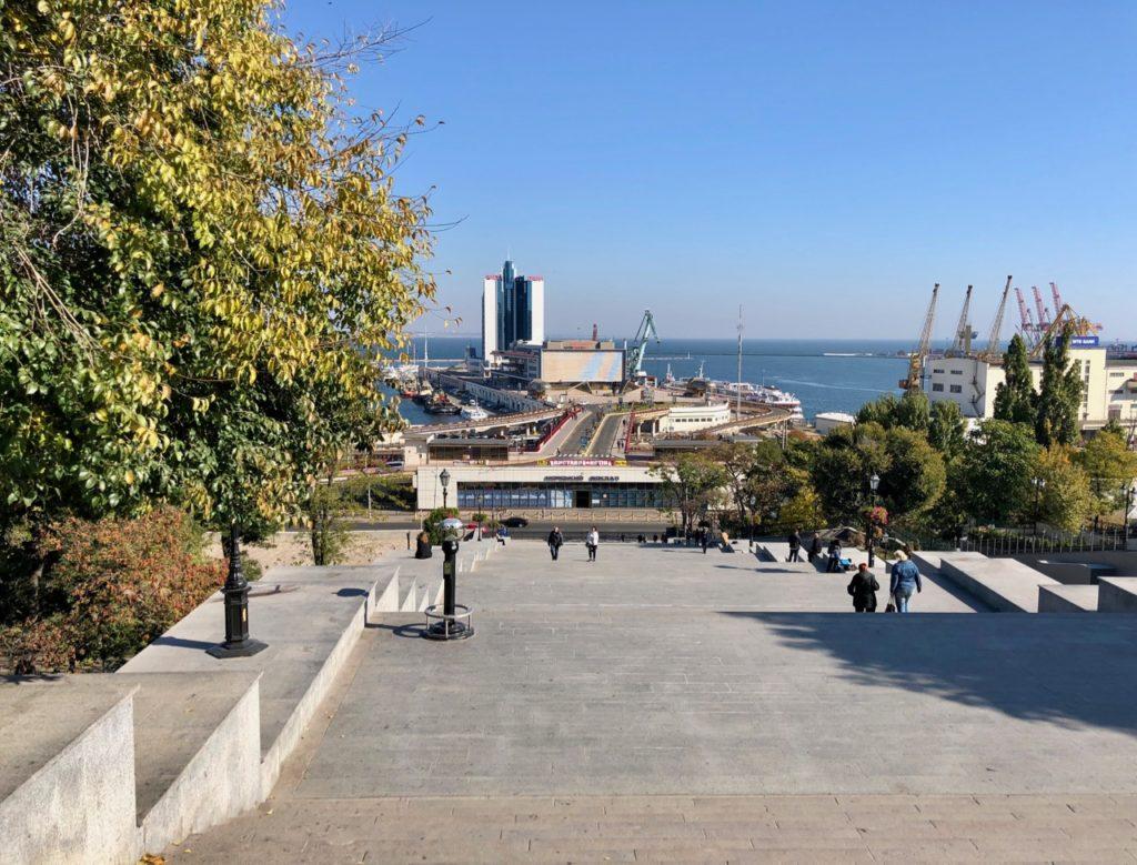 Ukraine-Odessa-escalier-Potemkine-vu-de-haut